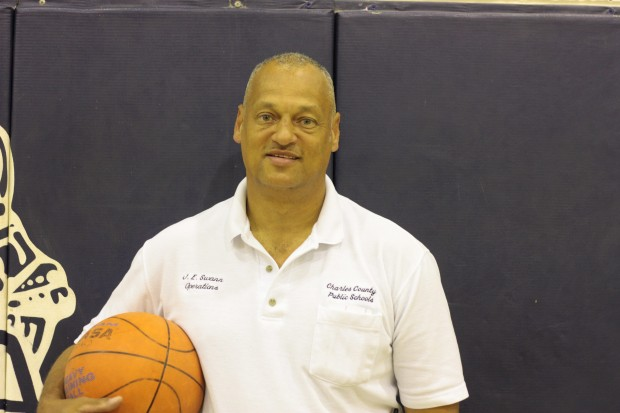 Mr. Earl Swann recently took the helm as the La Plata girls' basketball coach.