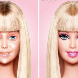 barbie-makeup
