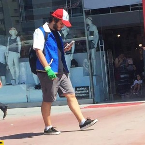 "New ""species"" of Pokémon Go player observed in his natural habitat"