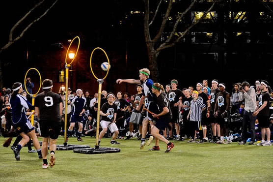 Middlebury's Quidditch team