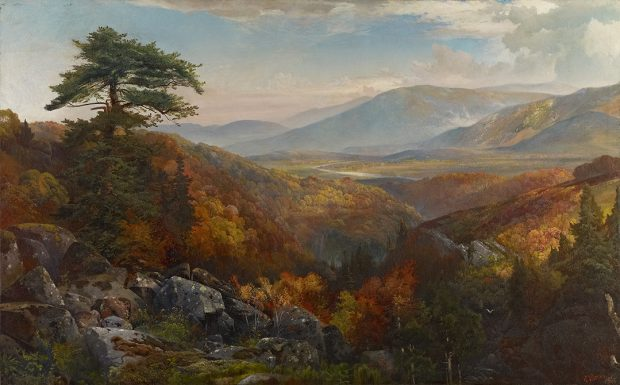 Thomas Moran (1837-1926) Autumn Landscape ca. 1865 Oil on canvas